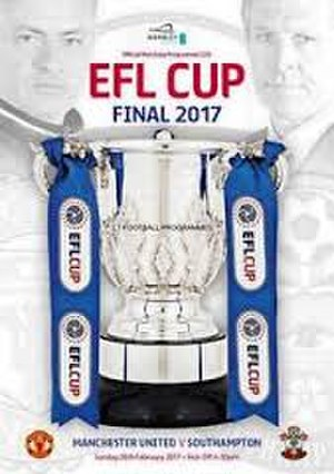 2017 EFL Cup Final - Match programme cover