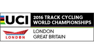 2016 UCI Track Cycling World Championships - Image: 2016 UCI Track Cycling World Championships logo