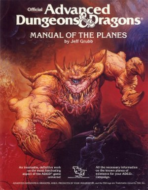 Manual of the Planes - Image: AD&D Manual of the Planes