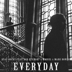 Everyday (ASAP Rocky song) - Image: ASAP Rocky Everyday Cover