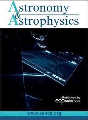 Astronomy and Astrophysics - Image: Aand A cover