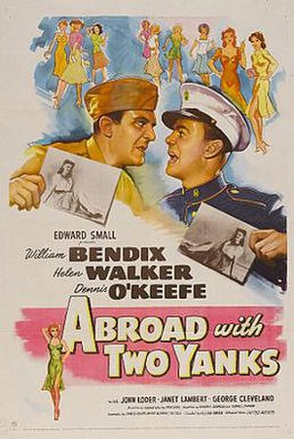 Abroad with Two Yanks - Original film poster