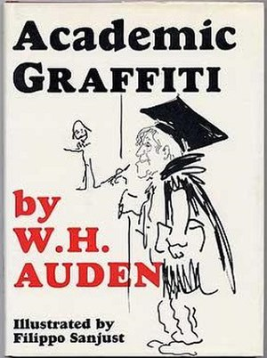 Academic Graffiti - First UK edition (publ. Faber & Faber)
