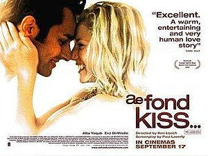 Ae Fond Kiss... - Theatrical release poster