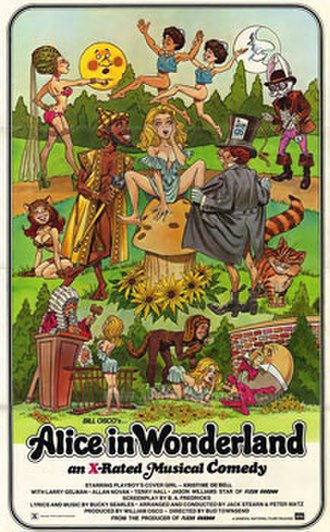 Alice in Wonderland (1976 film) - Theatrical release poster