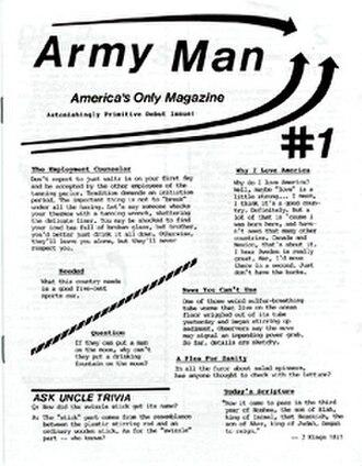 Army Man (magazine) - Image: Army Man