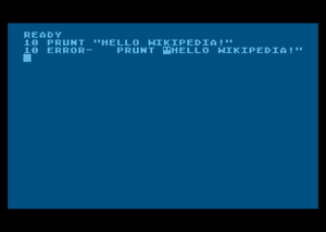Atari BASIC - What happens when a line containing a syntax error is entered