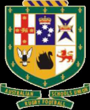 Australian Schoolboys rugby union team - Image: Australian Schoolboys Rugby Union logo
