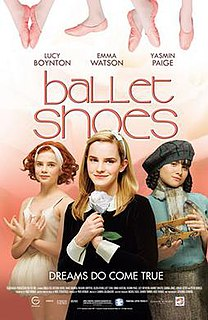 <i>Ballet Shoes</i> (film) 2007 film by Sandra Goldbacher