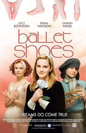 Ballet Shoes (film) - Promotional poster