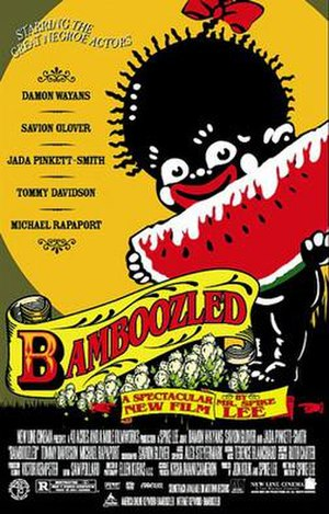 Bamboozled - Theatrical release poster