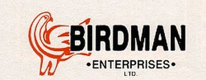 Birdman Enterprises - Image: Birdman Logo 1984