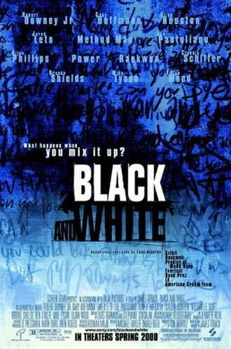Black and White (1999 drama film) - Theatrical release poster