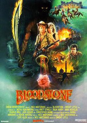 Bloodstone (1988 film) - Theatrical poster