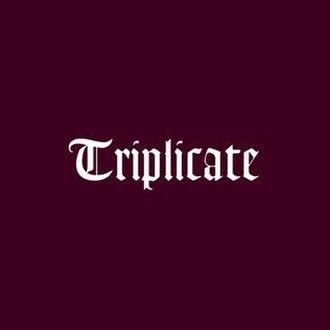 Triplicate (Bob Dylan album) - Image: Bob Dylan Triplicate (album cover)
