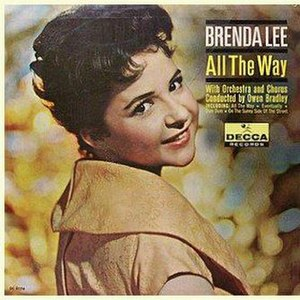 All the Way (Brenda Lee album) - Image: Brenda Lee All the Way