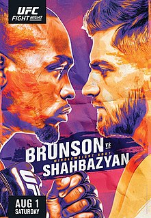 UFC Fight Night: Brunson vs. Shahbazyan