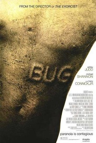 Bug (2006 film) - Theatrical release poster