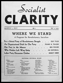 organized grouping of Marxists in the Socialist Party of America
