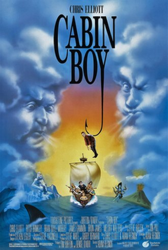 Cabin Boy - Theatrical release poster