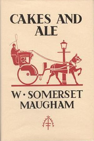 Cakes and Ale - Cover of the first UK edition