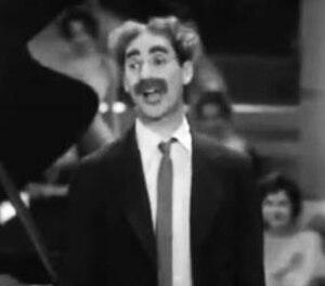 Captain Spaulding - Groucho Marx as Captain Spaulding in the film version of Animal Crackers.