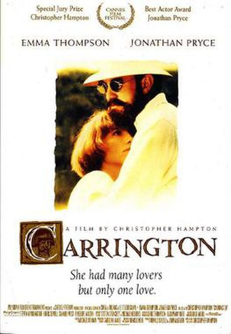 Carrington (film) - Theatrical release poster