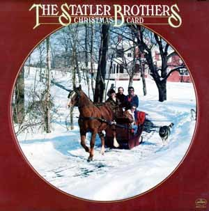 Christmas Card (The Statler Brothers album) - Image: Christmas Card