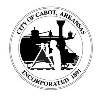 Cabot, Arkansas - Image: City seal of Cabot, AR