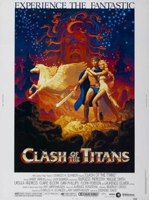 Clash of the Titans (1981 film) - Film poster by Brothers Hildebrandt