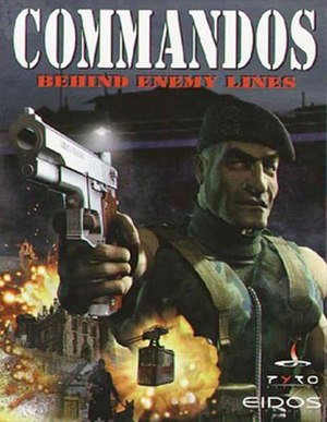 Commandos: Behind Enemy Lines - Cover art