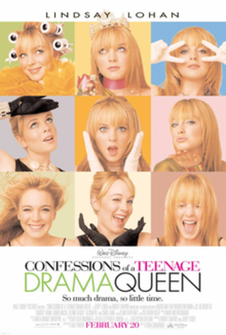 Confessions of a Teenage Drama Queen - Theatrical release poster