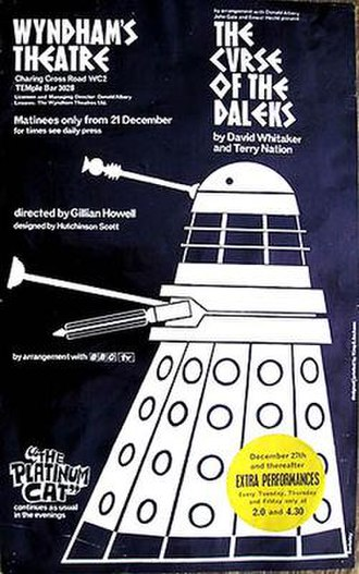 The Curse of the Daleks - A programme for The Curse of the Daleks