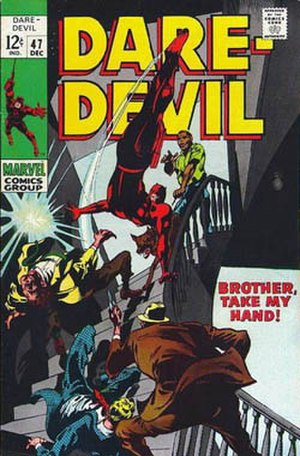 George Klein (comics) - Image: Daredevil cover number 47