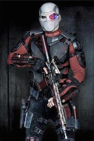 Deadshot - Will Smith as Floyd Lawton / Deadshot in a publicity still for Suicide Squad (2016).