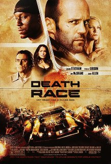 <i>Death Race</i> (film) 2008 science fiction action film directed by Paul W. S. Anderson