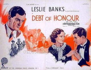 <i>Debt of Honour</i> 1936 film by Norman Walker