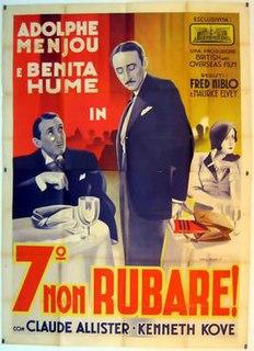 <i>Diamond Cut Diamond</i> (film) 1932 film
