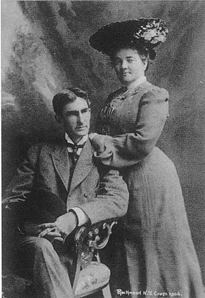Thomas Dixon Jr. - Dixon and his first wife Harriet
