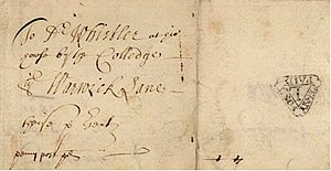 Fletcher Collection - Image: Dockwra post 1682