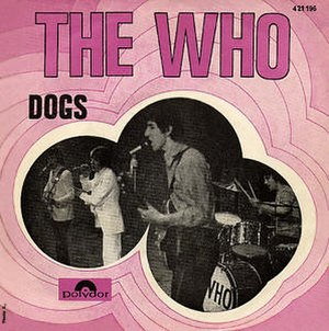 Dogs (The Who song) - Image: Dogs Who German cover