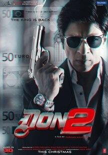 <i>Don 2</i> 2011 film directed by Farhan Akhtar