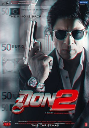 Don 2 - Theatrical release poster