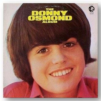 The Donny Osmond Album - Image: Donnyosmondalbum