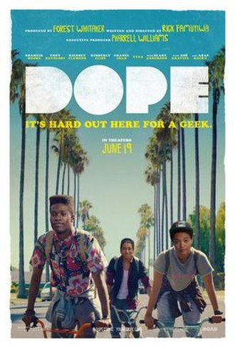 Dope (2015 film) - Theatrical release poster