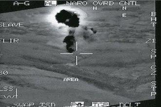 Ain es Saheb airstrike - IAF video of the strike