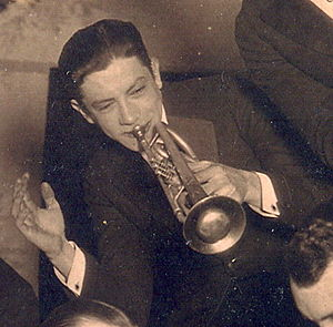 Emmett Hardy - Hardy performing with The Carlisle Evans Band in 1921