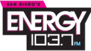 "KSON (FM) - Logo as ""Energy 103.7"""