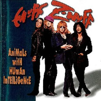 Animals with Human Intelligence - Image: Enuff Znuff Animals Reissue