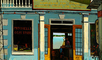 """Storefront, Nassau"" by Stephen Morg..."